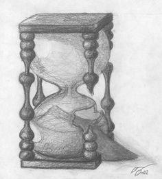 Cool Hourglass Drawing | hourglass drawing Hourglass Drawing