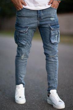 Blugi Slim COD B4619 Blue Cod, Slim, Skinny, Pants, Style, Fashion, Trouser Pants, Swag, Moda