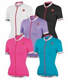 New colors this year in the  Castelli Cycling Perla Women s Cycling Jersey!   cycling 88b5906bf