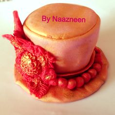 Tophat cake topper by Naazneen