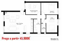 Casas Económicas - Casas modernas e com um melhor comportamento térmico, energético e acústico