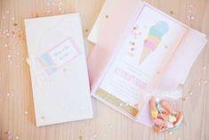 Pastel Ice Cream Social via Kara's Party Ideas | Cake, decor, cupcakes, games and more! KarasPartyIdeas.com #icecreamsocial #iceceamparty #neighborhoodsocial #partyplanning #partyideas #partydecor3