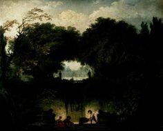 Il piccolo parco, 1762-1763, olio su tela, Wallace Collection, Londra