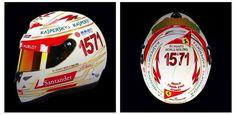 f1 Fernando Alonso dio a conocer su casco para el #IndianGP, conmemorando sus 1571 puntos en F1