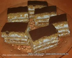 Poppy Cake, Hungarian Recipes, Something Sweet, Cooking, Dios, Mascarpone, Tray Bakes, Kitchen, Cuisine