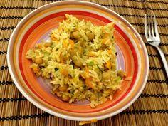 we love veggie: Orientalischer Bratreis -  mal was Neues ,im neuen... Food Blogs, Cabbage, Grains, Rice, Vegan, Vegetables, Vegetarian Chili, Oriental Recipes, Fried Rice