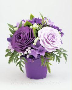цветы ручной работы из полимерной глины, работы из полимерной глины фото…