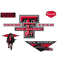 Fathead Texas Tech Red Raiders Logo Wall Decal *** Home decor details can be found by clicking on the image.