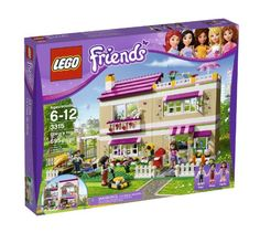 LEGO Friends Olivia's House 3315 - - Hang out at Olivia's House! Visit Olivia's House with all of the LEGO Friends! Olivia, her parents and her pet cat live in a big, bright house with lots of rooms for hanging out and Legos, Lego Lego, Lego Batman, Lego Ninjago, Modele Lego, Lego Friends Sets, Friends Girls, Van Lego, Lego House