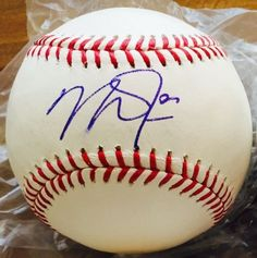 MIKE TROUT SIGNED OFFICIAL 2015 ALL-STAR BASEBALL was signed Tuesday August 11 when they played the Chicago White Sox The autograph was obtained in-person. Add it to your collection you wont be disappointed. Winning Bid will get the exact item pictured in the listing THIS ITEM WILL PASS ANY THIRD