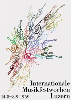 the Lucerne International Music Festival -Olle Eksell (1969)