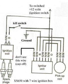 chopcult '81 Yamaha XJ 650 Wiring Help Needed customs