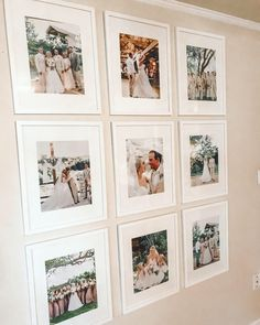 I finally have wedding photos up in our house! Our photographer did such an amazing job. Gallery Wall Bedroom, Gallery Wall Frames, Gallery Walls, Picture Wall Living Room, Family Wall Decor, Frame Wall Collage, Frames On Wall, Photo Collage On Wall, Wedding Picture Walls
