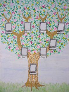 arbres g n alogiques d coratifs pour enfants id e cadeau qu bec arbre g n alogique. Black Bedroom Furniture Sets. Home Design Ideas