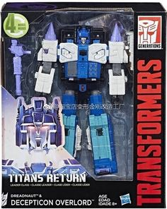 First Official Photos Of Titans Return Leader Overlord Leak! | Serpentor's Lair