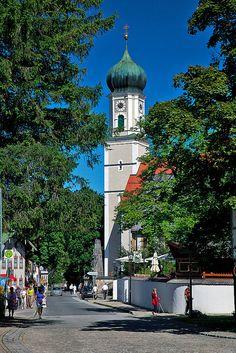 Oberammergau Church, Germany