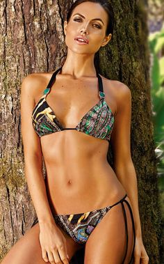 01291451db Opulencia Exotica Separates by Aguaclara 2014 from #SwimwearBoutique Bikini  Babes, Separates, Summer Time