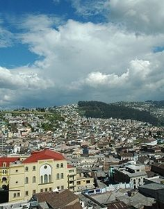 The capital of Ecuador, Quito is located in the Andes mountains.