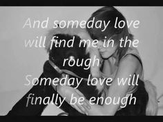 Anna Nalick - In the rough with lyrics on screen