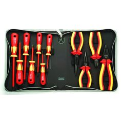 Tool Kits and Bundles: 1000V Insulated Screwdriver and Plier Set-Electric | Eclipse Tools