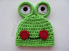 Do you want me to make this hat? Or this hat with the eyes on the hat instead of on top?