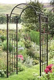 cast iron garden archways galvanised - Google Search