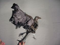 War Horse- The crows are operated by puppeteers as well