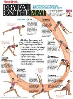Fat Burning / Strengthening #Yoga Routine