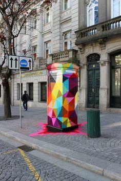 OKUDA SAN MIGUEL: STREET ART
