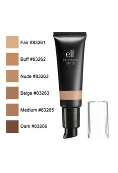 Elf bb cream. I am in the shade nude for the winter. I love this! I am super surprised how much I like this product I was skeptical at first because it's only $3 but this stuff is amazing. It evens out my skin tone and covers most of my dad spots. The only complaint I have is how dewy it is so you definitely need to set it with a setting powder. But it's super good and long wear too!