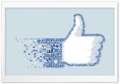 I Like Facebook HD Wide Wallpaper for Widescreen