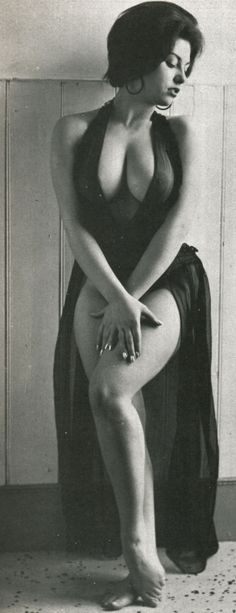 """June Palmer - Beau, June 1966 Another example of when curves were """" IN """" ! I guaranty her thighs touch ! Lol"""
