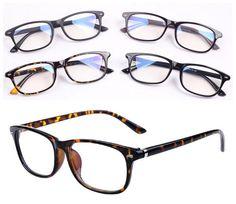 712359b651c Retro Vintage Oval Men Women Eyeglass Frame Full Rim Fashion Glasses  Spectacles  Generic