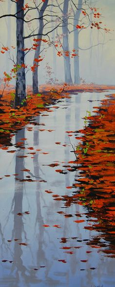 Autumn Reflections by artsaus