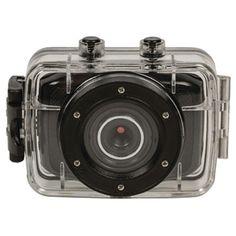 Cámara de acción HD de 720p resistente al agua