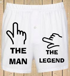Personalised Men's Boxer Shorts The Man The Legend Funny Boxer shorts Mens Underwear Valentines Gift by BrownOwlGifts on Etsy https://www.etsy.com/listing/219585700/personalised-mens-boxer-shorts-the-man