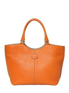 a03ed04556a63 Tod s New Logo Small Leather Tote Bag on shopstyle.com Luxury Shop