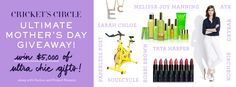 Cricket's Circle Ultimate Mother's Day Giveaway - win $5000 worth of goodies!