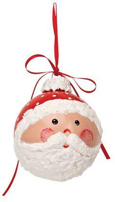DecoArt® Jolly St. Nick Ornament #ornaments #craft #christmas