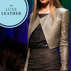 Luxe Leather: Chrysler Leather Jacket in Dans Olive