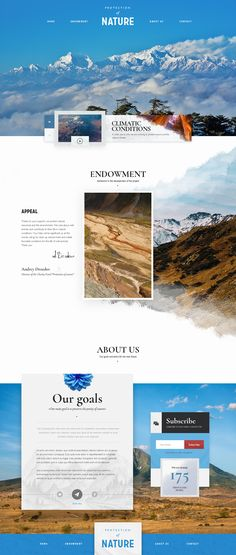 Protection of nature on Behance