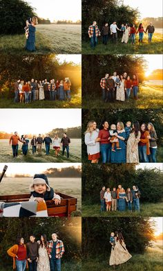 Group Family Pictures, Extended Family Pictures, Large Family Poses, Family Picture Poses, Family Photo Sessions, Fall Family Portraits, Family Portrait Poses, Fall Family Photos, Forslag