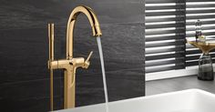 """The way colour, finish and material impacts the bathroom is that the faucet becomes the jewellery - the accessory for the interior designer. It's another way to add a level of detail and quality to interior design features."" Michael Seum, Vice president design"