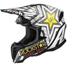 2016 Airoh Twist Helmet Rockstar Energy Matt