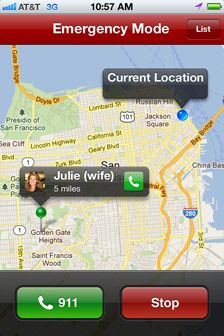 Locating family in an emergency has never been easier.