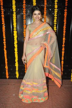 Prachi Desai in Surily Goel Net Saree