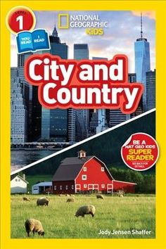 Adult and child readers will learn all about urban and rural areas together in this new Co-reader from National Geographic Kids! Readers will take a tour through cities and rural areas around the world to learn what life is like downtown, in a farm community, in the mountains, and all around.