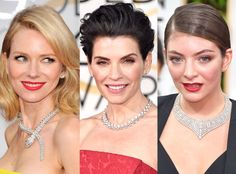 Diamond Necklaces from Biggest Red Carpet Trends at the 2015 Golden Globes