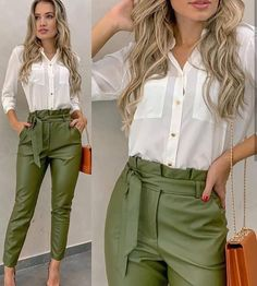 Trends For Women S Fashion 2018 Office Outfits Women Casual, Stylish Work Outfits, Business Casual Outfits, Professional Outfits, Classy Outfits, Chic Outfits, Fall Outfits, Fashion Pants, Work Fashion