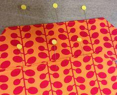 Schöne Reißverschluss Tasche von quilt barn: Sewalong Day 1